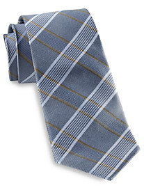 Rochester Stripe Plaid Silk Tie