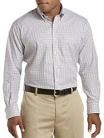 Peter Millar® Nanoluxe Easy-Care Mini Tattersall Sport Shirt