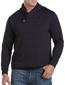 Society of One® Shawl-Collar Fleece Pullover
