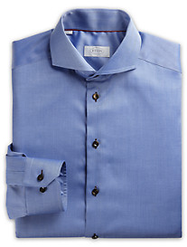 Eton® Cambridge Contrast Herringbone Dress Shirt