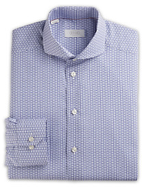 Eton® Brighton Owl-Print Poplin Dress Shirt