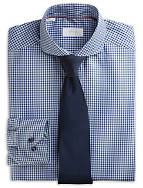Eton® York Multi Check Twill Dress Shirt
