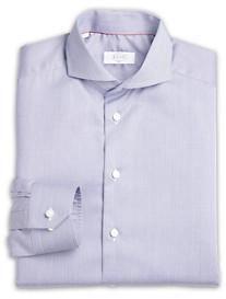 Eton® Warwick Satin Contrast Dobby Dress Shirt