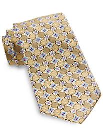 Robert Talbott Cooper Floral Medallion Silk Tie