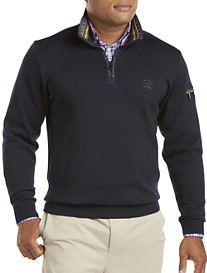 Paul & Shark® Quarter-Zip Wool Sweater