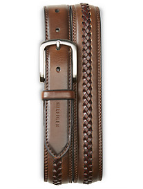Tommy Hilfiger® Braided Inset Leather Belt