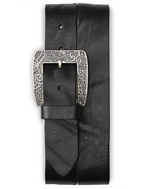 Robert Graham® Vintage Paisley Embossed Leather Belt