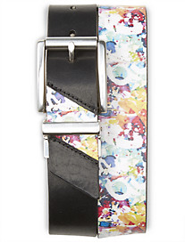 Robert Graham® Color Splash Reversible Leather Belt