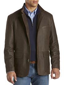 Remy Sport Coat–Style Lambskin Jacket