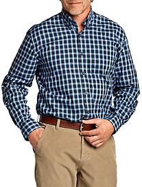 Cutter & Buck™ Princeton Plaid Poplin Sport Shirt