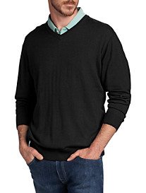Cutter & Buck® Douglas V-Neck Sweater
