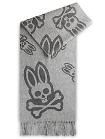 Psycho Bunny® Fringed Logo Scarf