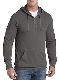 Lucky Brand® Hooded Henley Pullover