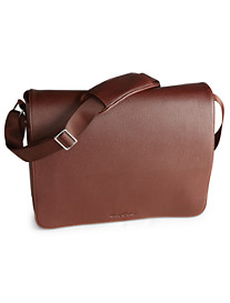 Robert Graham® Faux-Leather Messenger Bag