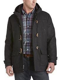 Nautica® Wool-Blend Toggle Coat