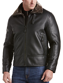 Marc New York Andrew Marc Faux-Leather Kane Jacket