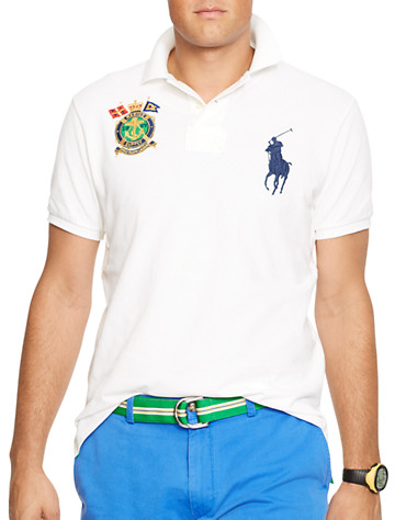 Polo Ralph Lauren? Nautical Crest Big Pony Mesh Polo | Polos