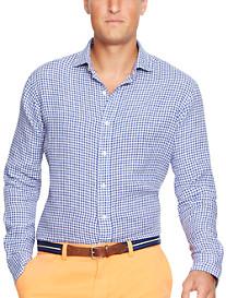 Polo Ralph Lauren® Gingham Linen Estate Sport Shirt