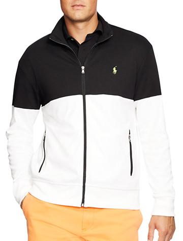 Big & Tall Polo Ralph Lauren® Colorblock Track Jacket D4901