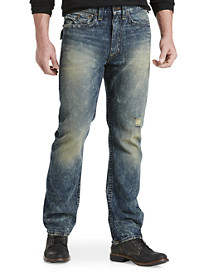 True Religion® Ricky Straight Jeans – Gothic Ruins Wash