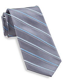 Michael Kors® Satin Stripe Silk Tie
