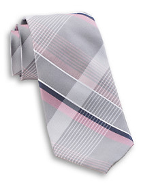 Michael Kors® Tri-Color Plaid Silk Tie