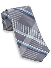 Michael Kors® Tri-Color Plaid Silk Tie