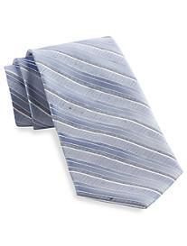 Calvin Klein® Horizon Bar Stripe Silk Tie