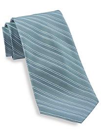 Calvin Klein® Glacial Pinstripe Silk Tie