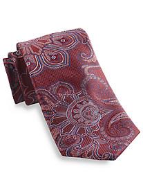 Rochester Textured Paisley Silk Tie