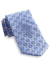 Rochester Pop Medallion Silk Tie