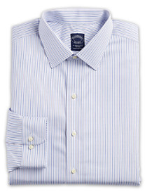 Brooks Brothers® Luxe Non-Iron Stripe Dress Shirt