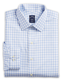 Brooks Brothers® Luxe Non-Iron Check Dress Shirt