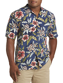 Tommy Bahama® Garden of Hope & Courage Silk Camp Shirt