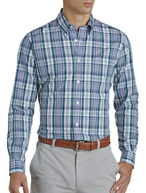 Brooks Brothers® Non-Iron Plaid Twill Sport Shirt