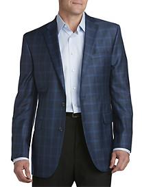 Jack Victor® Windowpane Wool Sport Coat