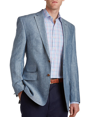 Linen Sport Coats from Destination XL