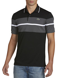 Lacoste® Sport Ultra Dry Chest Stripe Polo
