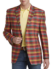 Ralph by Ralph Lauren Plaid Linen Sport Coat