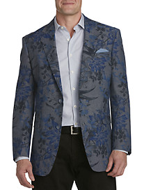 Tallia Orange Floral Sport Coat