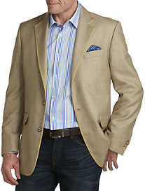 Tallia Orange Textured Sport Coat