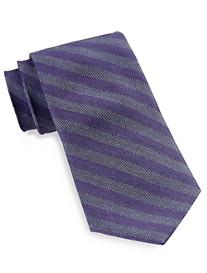 Calvin Klein® Bouclé Bar Stripe Silk Tie