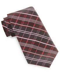 Calvin Klein® Reflection Triple Plaid Silk Tie