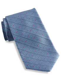 Robert Talbott Best of Class Diamond T Medallion Silk Tie
