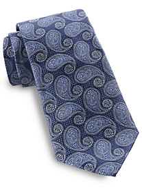 Rochester Large Foulard Paisley Silk Tie