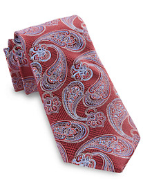 Rochester Glen Plaid Paisley Silk Tie