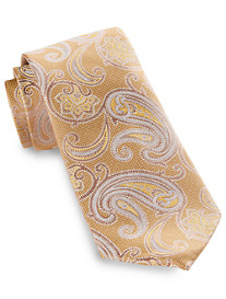 Rochester Outlined Paisley Silk Tie