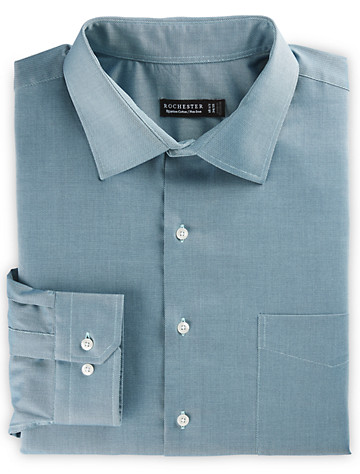 Rochester Non-Iron Solid Oxford Dress Shirt