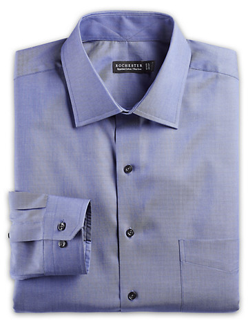 Navy Dress Shirts by Rochester