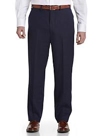 Ralph by Ralph Lauren Linen Flat-Front Suit Pants